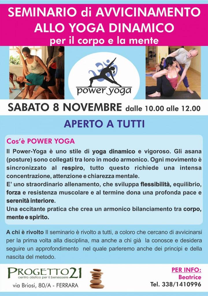 POWER YOGA seminario